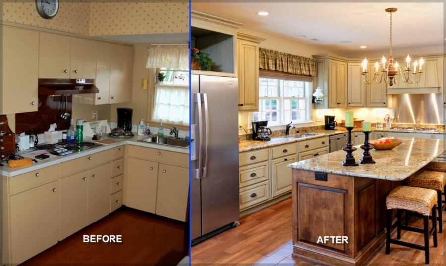 Gorgeous Cheap Kitchen Remodel Ideas Cheap Kitchen Remodel Decorating Ideas  Before After Interior U2013 Sere Construction